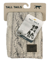 "Tall Tails Cable Knit Print Blanket 30"" x 40"""