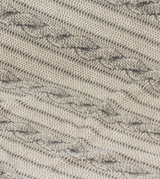 """Tall Tails Cable Knit Print Blanket 30"""" x 40"""""""