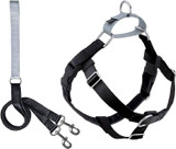 "Wiggles & Wags 1"" Wide Keystone Harness and Leash Package"