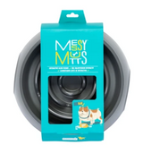 Messy Mutts Melamine Slow Feeder - Grey