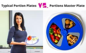 portion control plate comparison