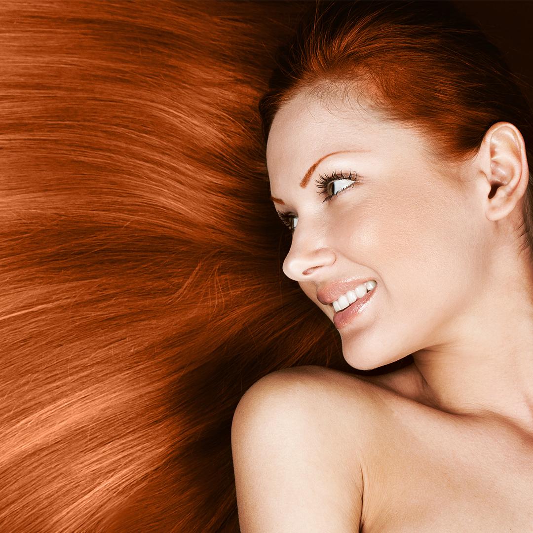 Biotin hair support