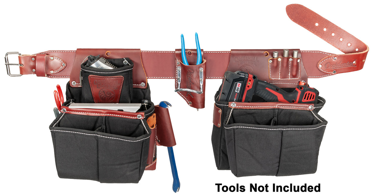 Occidental Leather Impact or Screw Gun and Drill Bag