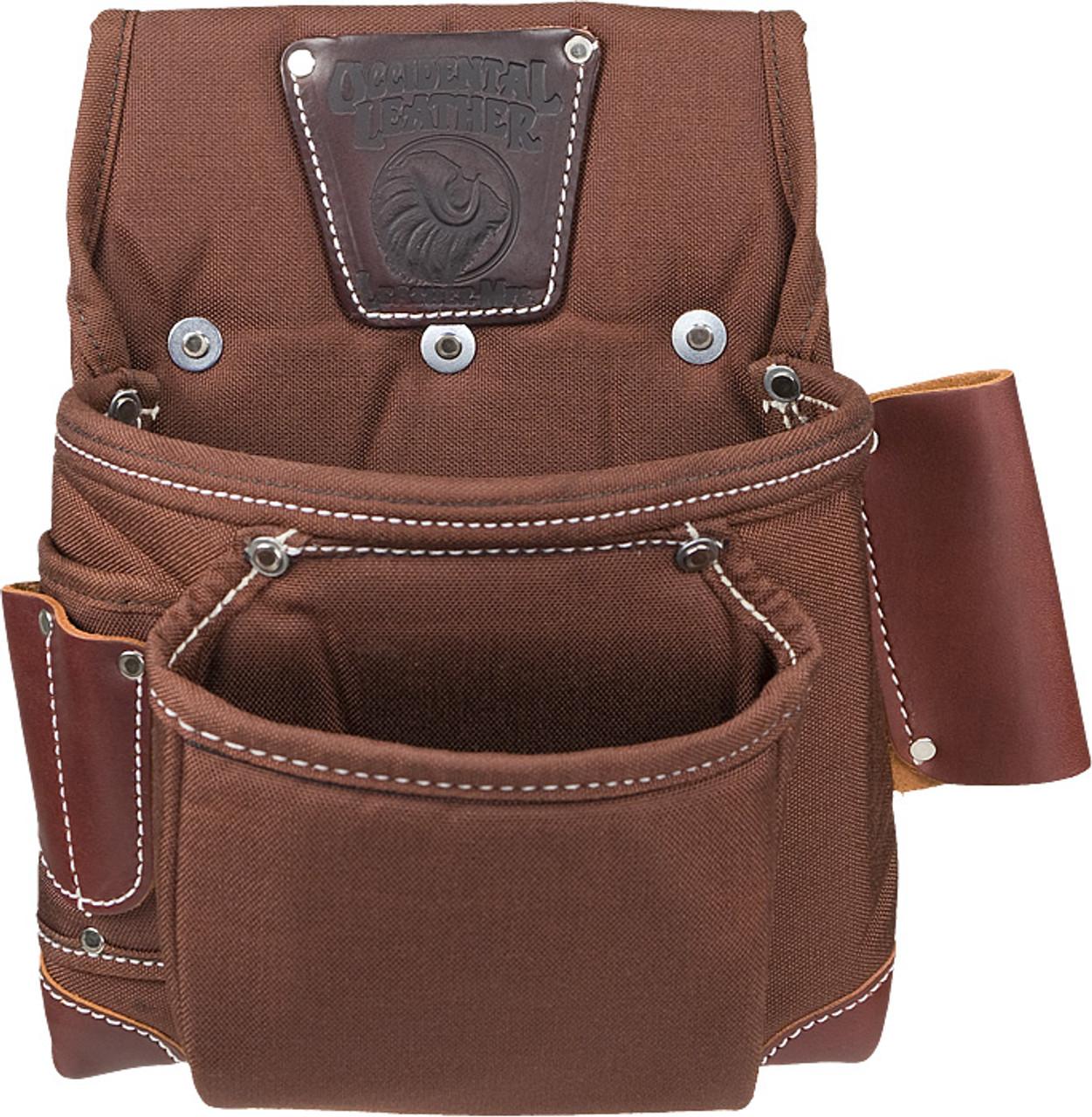 Occidental Leather 8385 Black Belt Stronghold Rough Framer Tool Bag Set Small