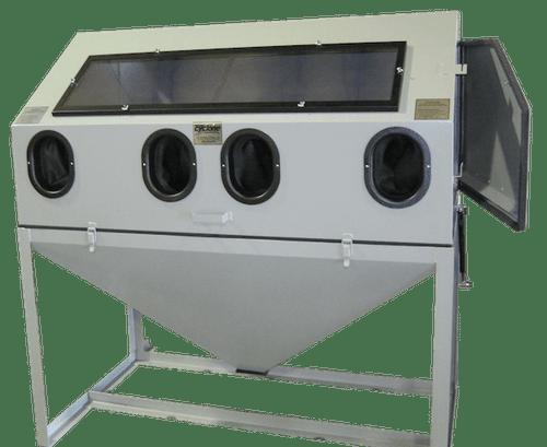 Cyclone DWS 6035 Abrasive Sandblasting Cabinet with side doors