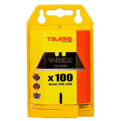 Tajima VRB2-100B 100 Pack Ultimate Utility Knife Replacement Blade