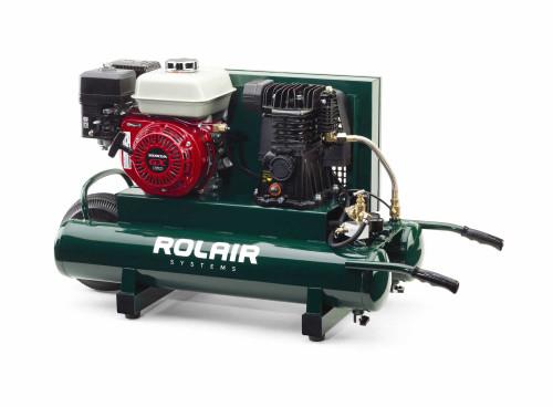 Rolair 4090hmk103-0001 9 Gallon 163CC 5.5HP Portable Belt Drive Air Compressor