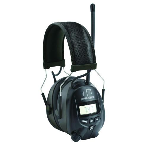 Walker's GWP-RDOM AM/FM Digital Radio Earmuff