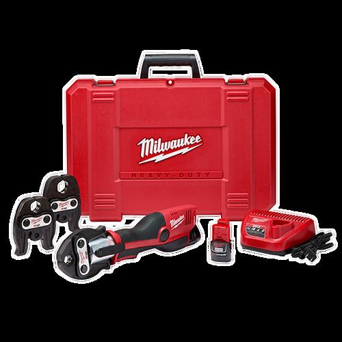 Milwaukee 2473-22 M12™ FORCE LOGIC™ Press Tool Kit with Jaws