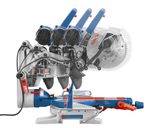 Bosch CM10GD 10 in Dual Bevel Glide Miter Saw