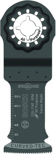 Bosch OSL114 1.25in Starlock Oscillating Multi Tool High-Carbon Steel Plunge Cut Blade