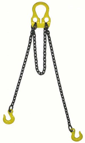 "Lift All 30004G10 9/32""X10' Welded Adjust-A-Link Grade 100 Chain Sling"