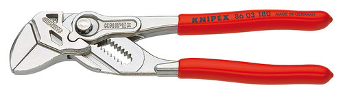 """Knipex 86 03 180 SBA 7"""" Self Ratcheting Plier Wrench Box Joint"""