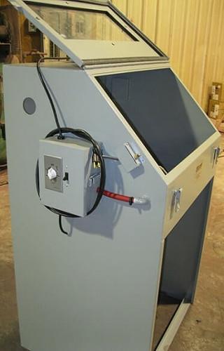 Cyclone T14 Tumble Abrasive Sandblasting Cabinet