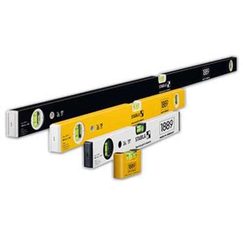 Stabila 22130 Limited Edition 4 Level Set 16 In, 24 In, 48 In, Pocket Level
