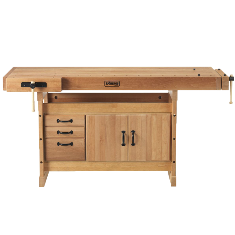 Sjobergs 66736K Scandi Plus 1825+SM03 Cabinet Combo along with all the Sjobergs accessories make this bench very flexible.