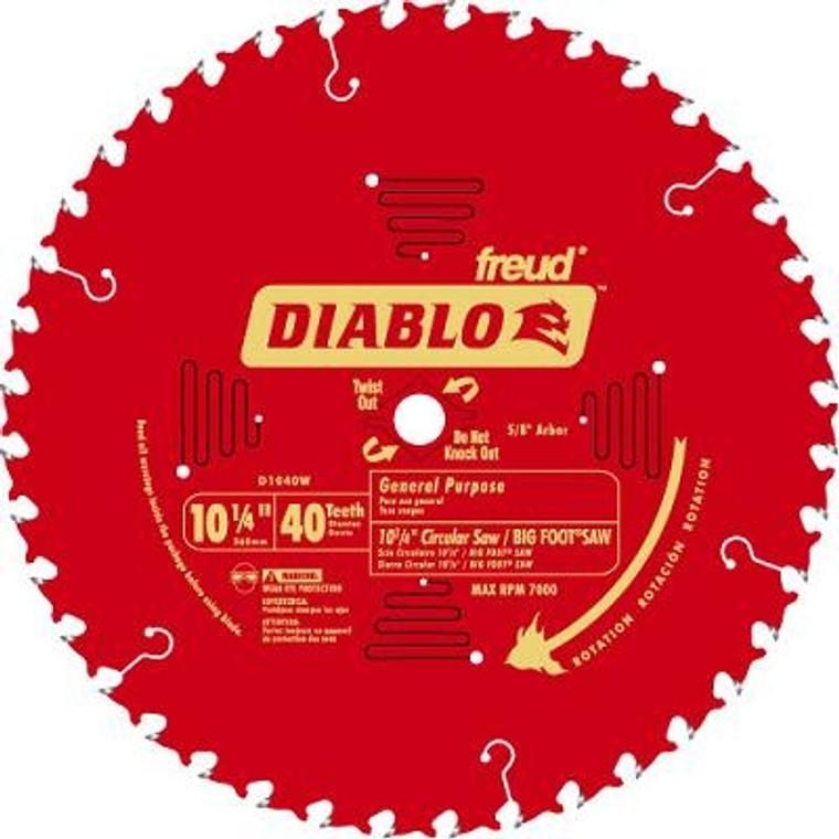 Diablo General Purpose 40-Tooth Circular Saw Blade
