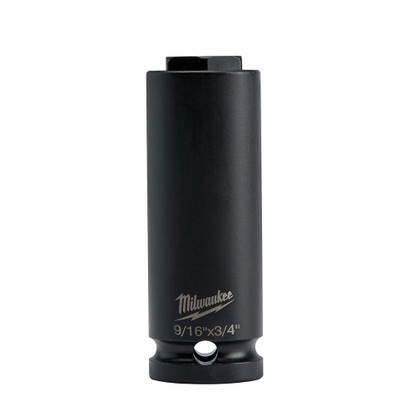 "Milwaukee 49-66-5141 Shockwave Lineman/'s 1//2/"" Drive 5//16/"" 8mm Hex Socket New"