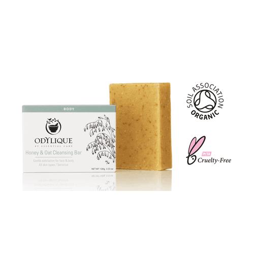 Bio Peeling Seife mit Honig und Hafer