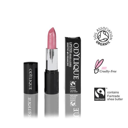 Pinker Lippenstift ohne Mineraloel