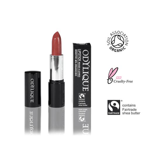 Feigen-roter Bio Lippenstift mit Fairtrade Sheabutter