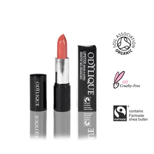 Bio Lippenstift Pfirsich Farbe ohne Mineraloel
