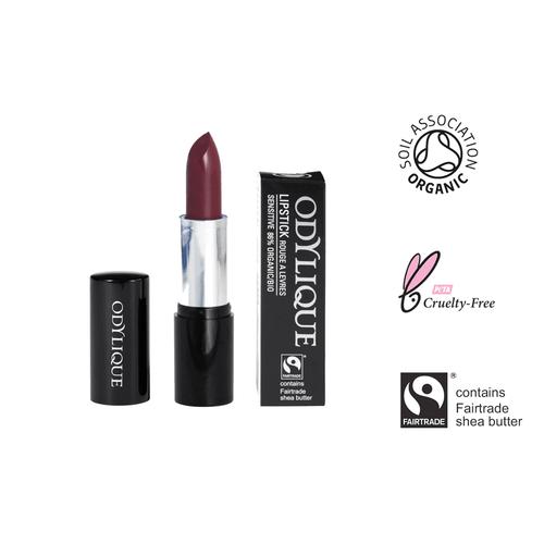 Dunkler Lippenstift Naturkosmetik