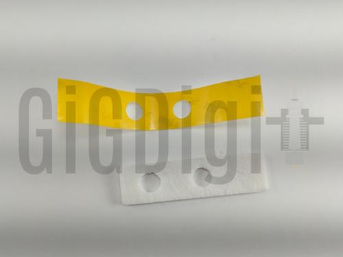 Heater Block Insulation with Tape - Mini Delta - Select Mini V2