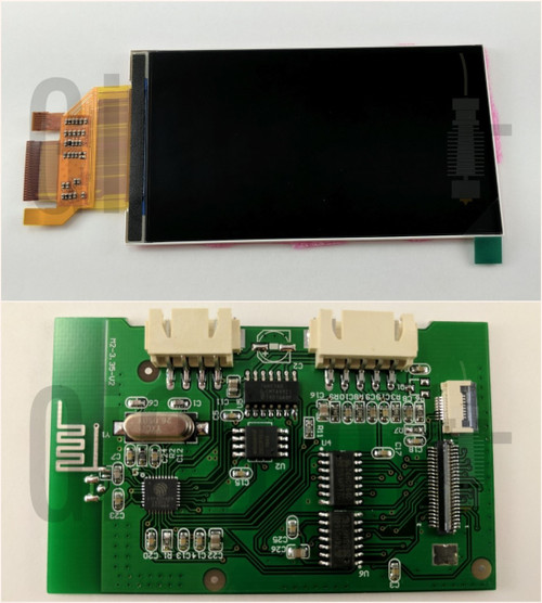 UI Controller Board with Display - MP Select Mini V2