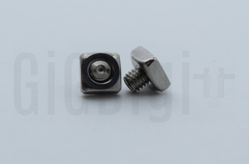 Square Nut with Set Screw - MP Select Mini V1 - MP Mini Delta (Qty 2)