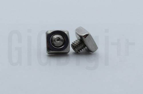 Square Nut with Set Screw - MP Select Mini V1 - MP Mini Delta (Qty 2)