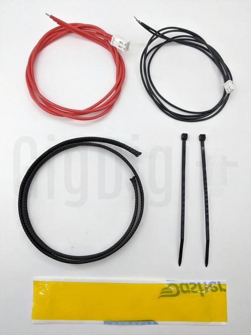 Heat Bed Rewire Kit - Silicone Wire - MP Select Mini V1 and V2