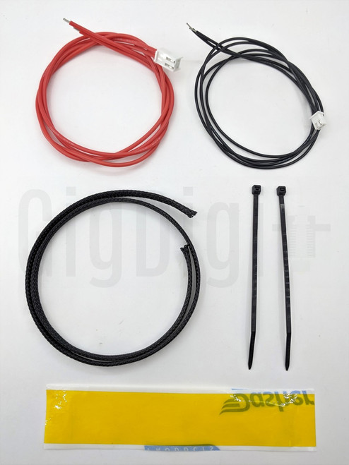 Heat Bed Rewire Kit - Silicone Wire - MP Select Mini V1 and V2