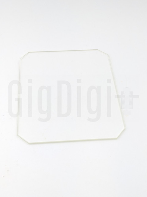 Borosilicate Glass Bed - 130mm x 160mm x 3mm - MP Select Mini