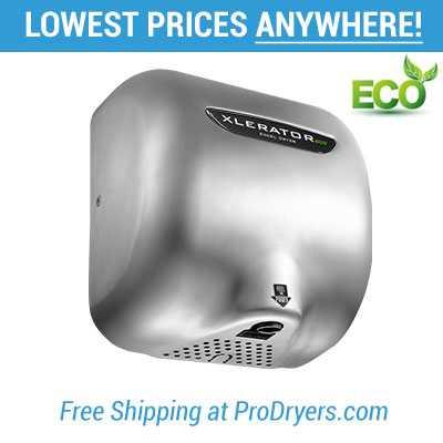 Xlerator ECO No Heat Hand Dryer