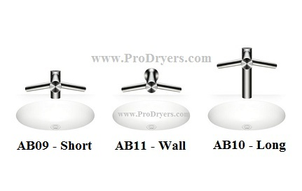 Three Airblade Tap Models