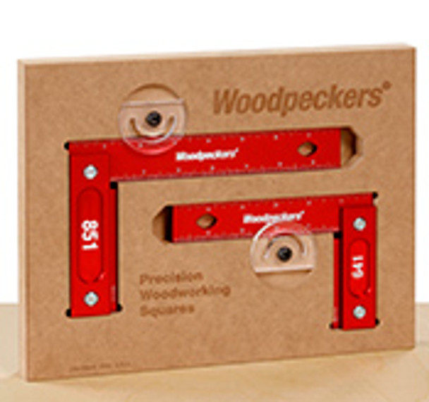 "Woodpeckers | Model 851 (8"") Precision Woodworking Square (Inch Scale) (851I)"