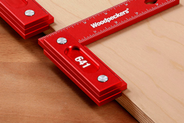 Woodpeckers   Model 851 (200mm) Precision Woodworking Square (Metric Scale) (851M)
