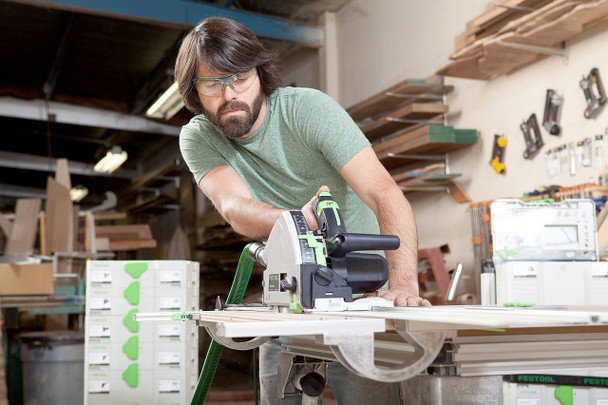 Festool TS 55 REQ-F Plunge Cut Circular Saw w/ FS 1400 Guide Rail (575388)