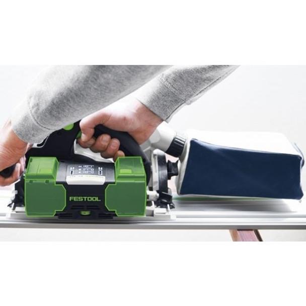 Festool TSC 55 REB-FS IMPERIAL Cordless AIRSTREAM Plunge-Cut Saw (PLUS-XL-FS) (Includes FS 1400 Guide Rail) (201403)