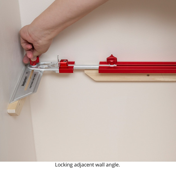 Woodpecker Stair Tread and Shelf Gauge in WP Case - ONE-TIME TOOL