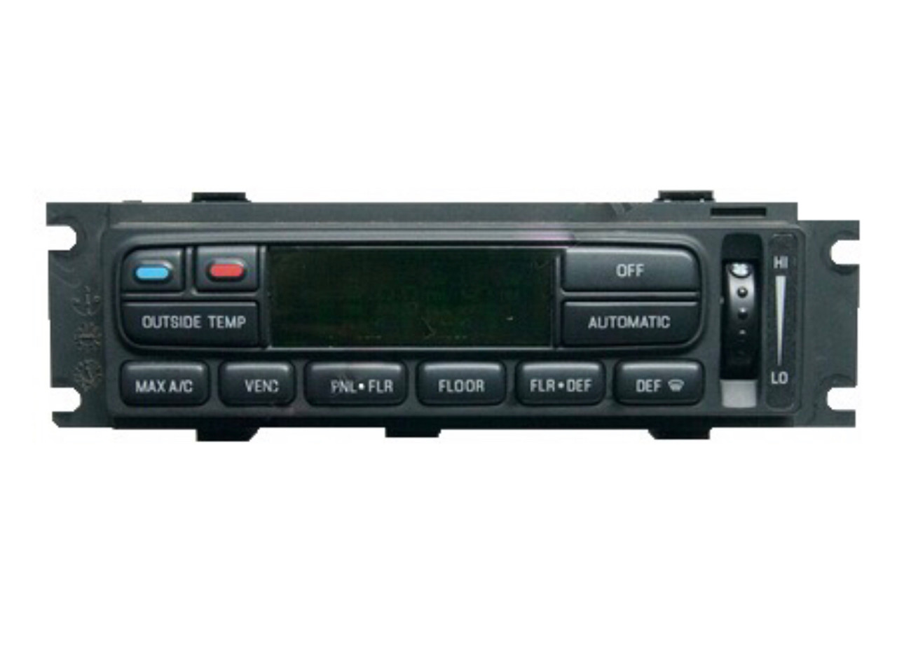 2002-2004 Ford F150 Auto, Without Heated Rear Glass Climate Control Module
