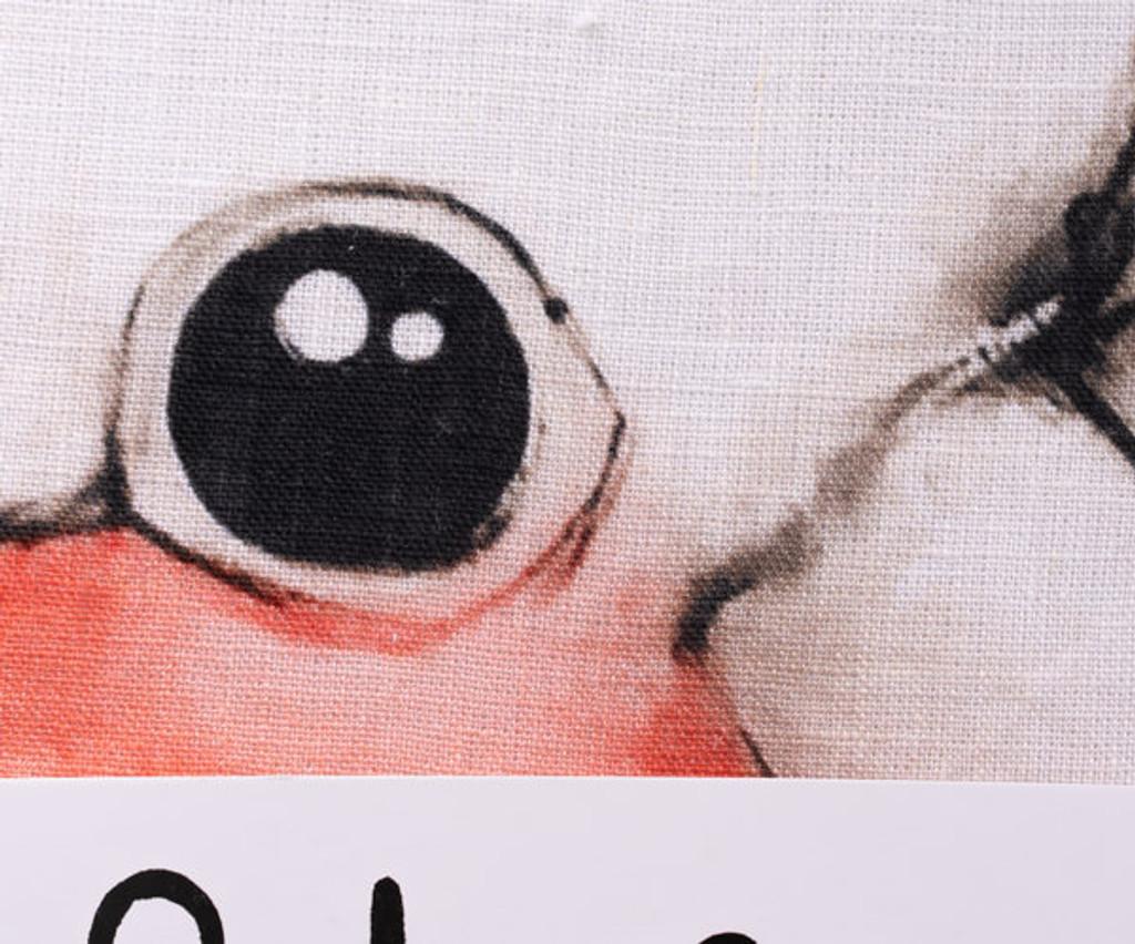 Pink and Grey Cockatoo Tea Towel
