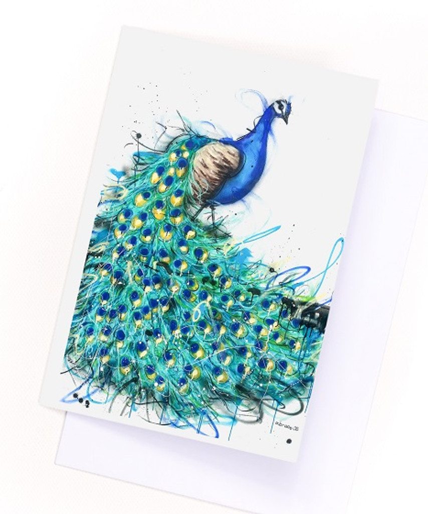 Beautiful card printed on quality artist grade paper. Comes with envelope.