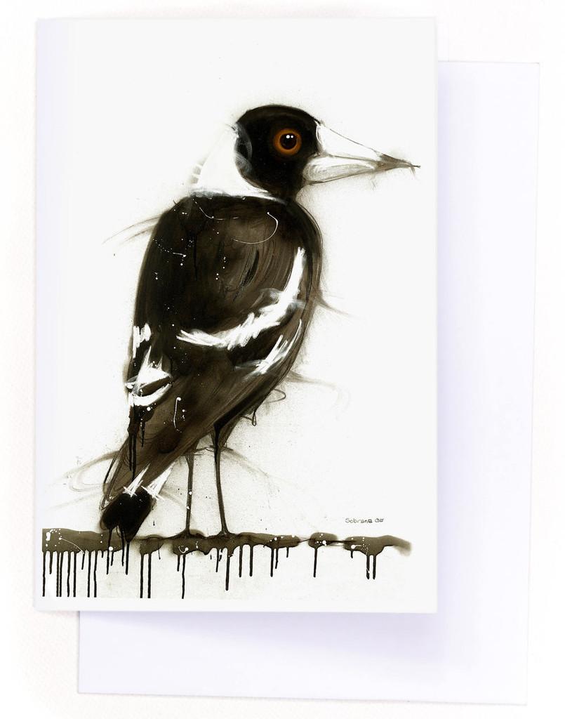 Magpie Card