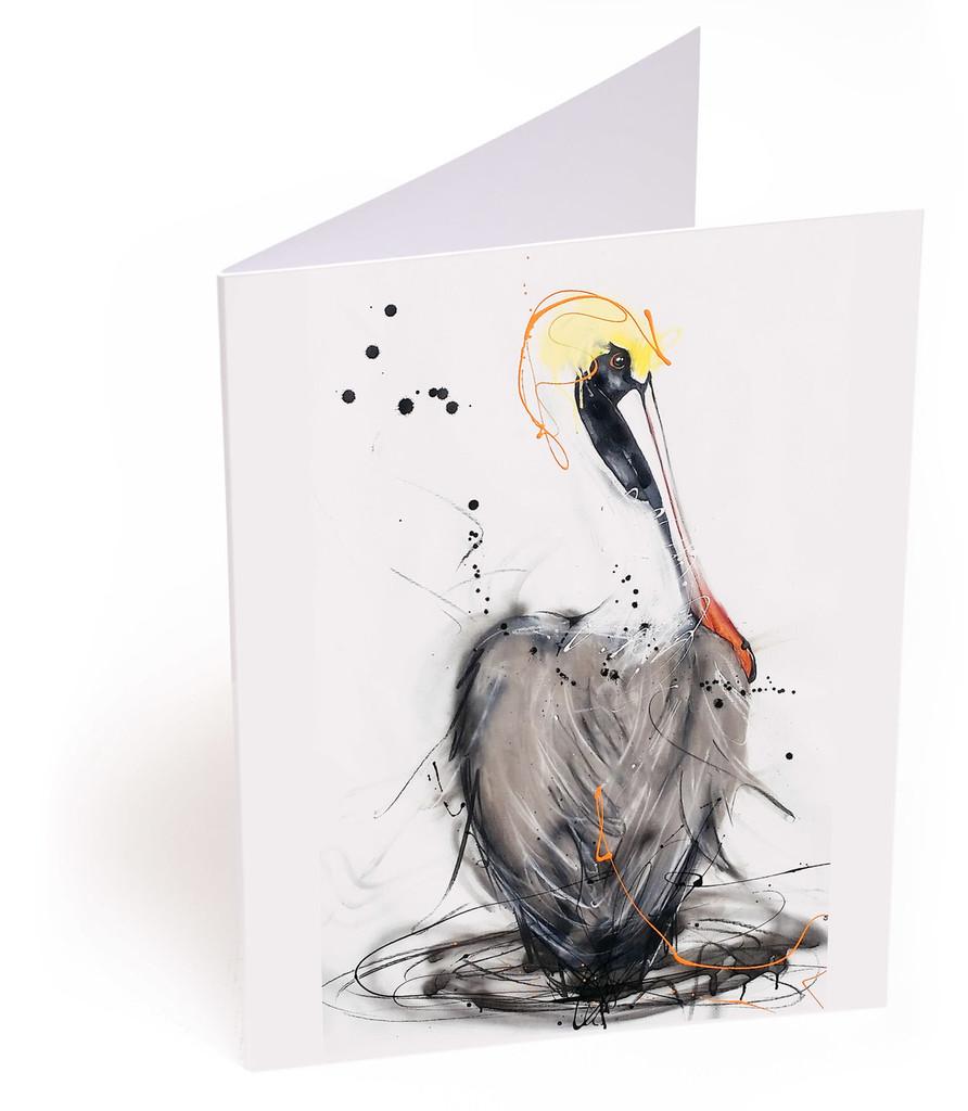 Pelican Northern Brown Card