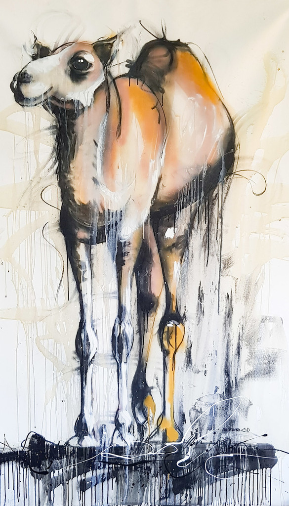 Camel created on Canvas