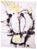 Sulphur Crested Cockatoo Tea Towel