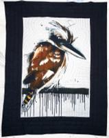 Quality unique cotton Quilt, hand stitching patterns throughout