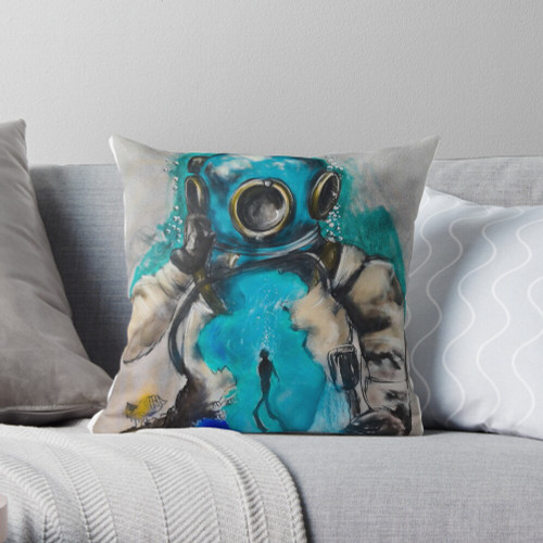 Pearl Diver Cushion